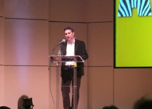 Eyal Press speaking in Chicago
