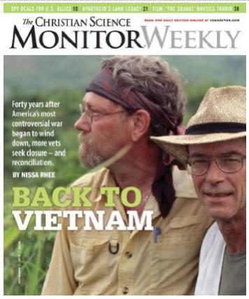 Back to Vietnam magazine cover