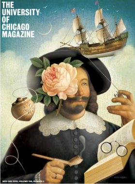 University of Chicago magazine cover