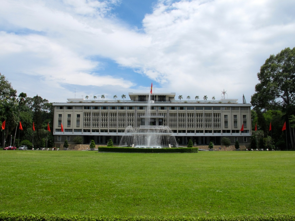 The South Vietnamese presidential palace as it looks today. (Photo by Nissa Rhee, June 2014)
