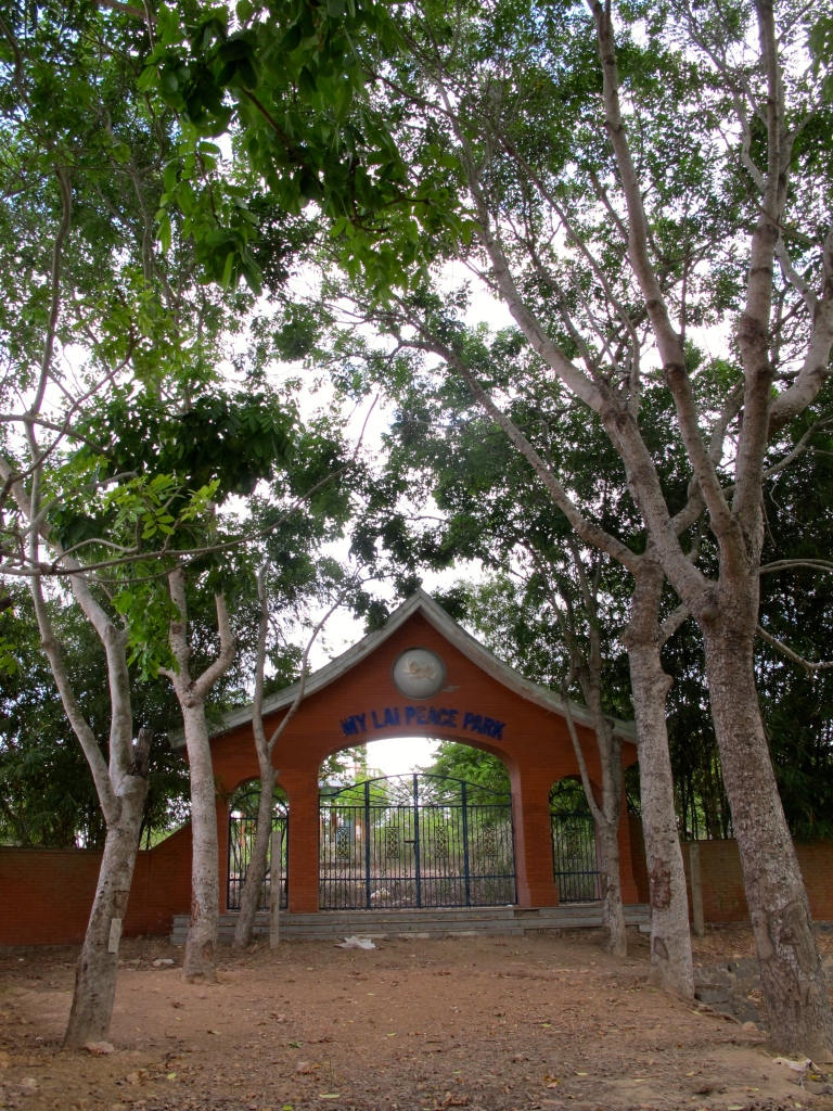 The entrance to the My Lai Peace Park in Quang Ngai. (Photo by Nissa Rhee, June 2014)