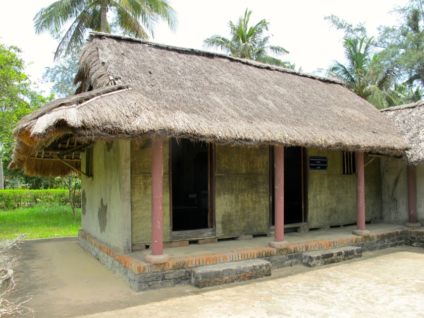 An example of the kind of houses which used to fill My   Lai village. (Photo by Nissa Rhee, June 2014)