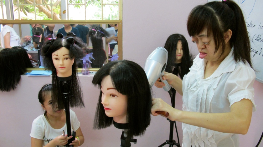 Beauty salon at Friendship Village