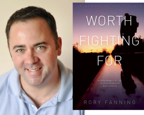 Rory Fanning and his book